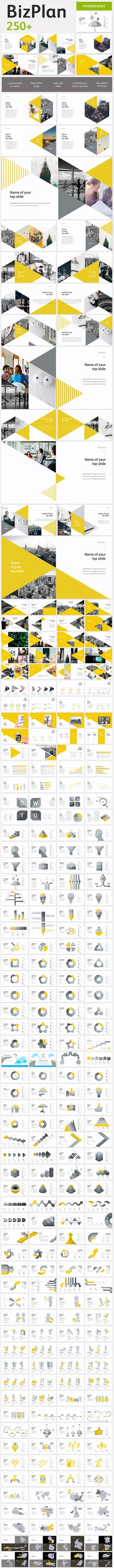 BizPlan Triangle Powerpoint Template