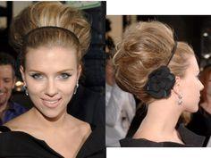 Scarlett Johansson Hair-Celebrity Hairstyles Haircuts 2009 Scarlett Johansson is an actress that needs no introduction. Celebrity Hairstyles, Braided Hairstyles, Wedding Hairstyles, Cool Hairstyles, Bad Hair Day, Big Hair, Scarlett Johansson Hairstyle, Corte Bob, Hair Dos