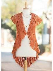 Crochet Patterns - Cinnamon Wrap from Annie's Craft Store. Order here: https://www.anniescatalog.com/detail.html?prod_id=129590&cat_id=24