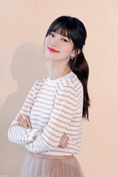 Bae Suzy, Korean Celebrities, Celebs, Asian Beauty, Korean Beauty, Hair Color Streaks, Kdrama Actors, Korean Actresses, Beautiful Asian Girls