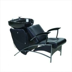 Shampoo Station  Chair Reclining & Bowl Unit Salon Backwash Station #OmwahInc