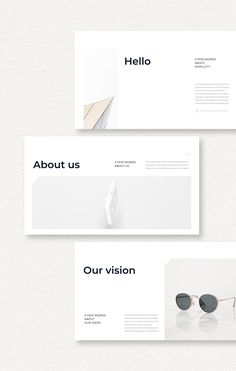 PowerPoint Template is a clear presentation to Show your Portfolio & Ideas. This is the right business portfolio presentation for every creator, Presentation Layout, Project Presentation, Presentation Templates, Template Portfolio, Portfolio Design, Desgin, Magazin Design, Catalog Design, Book Design Layout