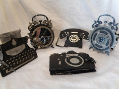 annes papercreations: Masculine Cards and Mini Album using Tim Holtz Dies