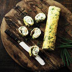 Ruller med laks og mascarpone
