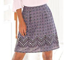 Sukňa s potlačou   blancheporte.sk #blancheporte #blancheporteSK #blancheporte_sk #letnakolekcia Sequin Skirt, Sequins, Skirts, Fashion, Moda, Fashion Styles, Skirt, Fashion Illustrations