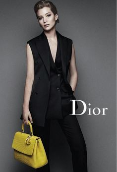 Jennifer Lawrence For Miss Dior F/W 2015