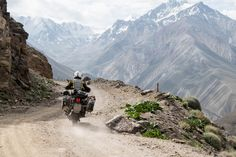 Rough on the outside, soft in its heart: Riding Pamir Highway in Tajikistan on a motorcycle is one of the last adventures in an unspoilt and remote country.