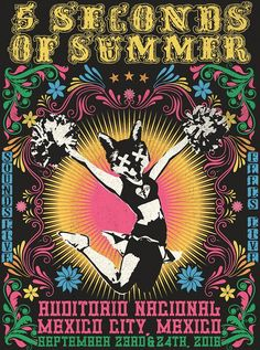 Mexico City's limited edition SLFL poster