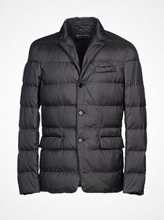 2013.01.09. Techno fabric down jacket from Ralph Lauren Black Label.