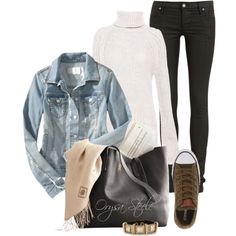 """""""Afternoon Casual"""" by orysa on Polyvore"""