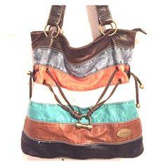 "Spotted while shopping on Poshmark: ""Dolce and Gabbana striped purse""! #poshmark #fashion #shopping #style #Dolce & Gabbana #Handbags"