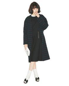 「黒」アイテムをViViモデル玉城ティナが甘っぽコーデすると・・・?|NET ViVi|講談社『ViVi』オフィシャルサイト Japanese Fashion, Asian Fashion, Love Fashion, Girl Fashion, Vintage Fashion, Womens Fashion, Fashion Design, Seoul Fashion, Harajuku Fashion