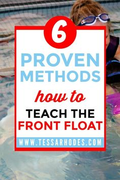 6 proven methods every parent and swim instructor should know. These teaching tips and tricks are the best way to teach kids how to float on their front. CLICK THROUGH to read the full post and learn how to teach scared children (who are afraid of water, Swimming For Beginners, Swimming Lessons For Kids, Swim Lessons, Swimming Drills, Swimming Tips, Kids Swimming, Swimming Workouts, Swimming Games, Teach Kids To Swim