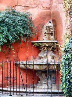 Rincón del Barrio de Santa Cruz en Sevilla.