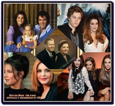 The Presley Family Tree Elvis Presley Priscilla, King Of The World, Lisa Marie, Memories, Princess, Movie Posters, Graceland, Artwork, Love