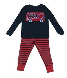 9182467708 JoJo Maman Bebe Bus Pajamas - Baby Boys Boys