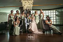 Bridal party looking so elegant at their Sandos Cancun wedding celebration!!! ~~ MTM Photography in Mayan Riviera Wedding Photographer. Wedding Photographer photos in Cancun, Playa del Carmen, Puerto Morelos, Puerto Aventuras and Tulum. www.MomentsThatMatterPhotography.com