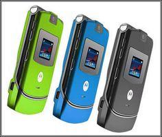 Celular Motorola   V3 como  Web Cam