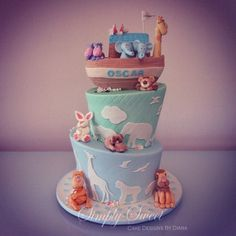 Noah's Ark Cake - @Lidia Chavez Chavez Haddadian, for second birthday???? : )