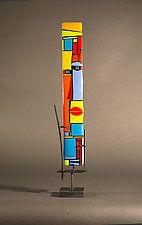 Abbey by Vicky Kokolski and Meg Branzetti (Art Glass Sculpture) Picasso, Soul Art, Alcohol Ink Art, Glass Wall Art, Acrylic Art, Ceramic Art, Fused Glass, Decoration, Abstract Art