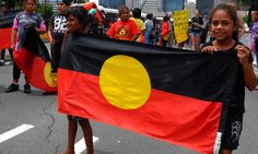 australia day racism flag