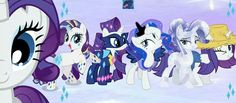 My Little Pony Rarity, My Little Pony List, My Little Pony Friendship, Mlp Rarity, Sweetie Belle, Cute Ponies, Princess Celestia, Feminism, Favorite Color
