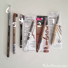 Makeup Tips: Best Drugstore Brow Pencil for Blondes. Pin now, read later!