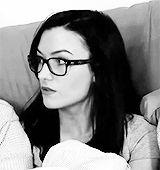Natasha Negovanlis + glasses