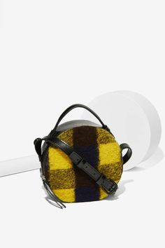Kelsi Dagger Canteen Plaid Crossbody Bag - Accessories