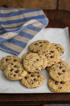 Chocolate Chip Cookies made with 100% barley flour