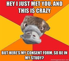 The Adventures of Psychology Student Platypus