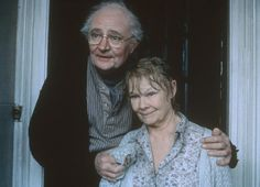 """Judi Dench and Jim Broadbent in """"Iris"""". Iris suffered from Alzheimer's disease in her later years. Especially tragic, perhaps, because of Iris' brilliant mind."""