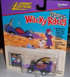 Dick Dastardly's Mean Machine Johnny Lightning Wacky Races Cartoon Network by PLAYING MANTIS. $27.39. Johnny Lightning-Cartoon Network-Wacky Races-Dick Dastardly's Mean Machine car replica.