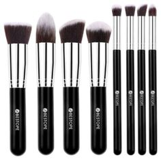 Best Value Small Set of Makeup Brushes: BESTOPE Makeup Brush Set