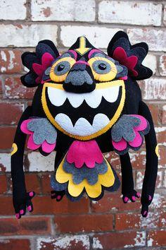 Looboo - Totem Detail by Felt Mistress, via Flickr
