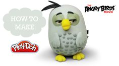 The Angry Birds Movie Play Doh Making Cute Cyrus - Playdo Video
