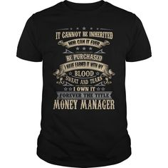 I Own It Forever The Title Money Manager T Shirt, Hoodie Money Manager