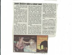 Anderson County Advocate Article July 2013 Part 2 www.jamierockers.com