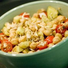 """Chickpea Salad II 