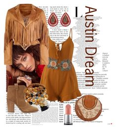 """Austin Dream"" by hiru-ha on Polyvore featuring Balmain, Boohoo, Laurence Dacade, Chloé, WithChic, festivalstyle, Packandgo and SXSW"