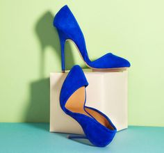 L.A.M.B. Heels.  Way too high but love from afar.