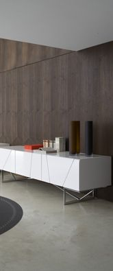 Ligne Roset 3DOOR SIDEBOARD  Height: 29.5''  Width: 74.5''  Depth: 17.75'' {I know it is not this one FYI but I think I have the dimensions of your 3 door contours correct. Double check for me.}