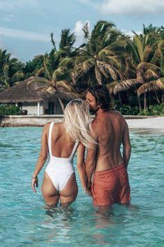 Velassaru Maldives with Camille & Jean, maldiveslovers, maldivesislands and maldivesresorts Maldives Honeymoon, Maldives Travel, Aruba Pictures, Honeymoon Pictures, Summer Pictures, Cute Relationship Photos, Couple Relationship, Creative Fashion Photography, Fit Couples
