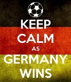 KEEP CALM AS GERMANY WINS http://viaggi.asiatica.com/