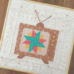 """Bee In My Bonnet: 6"""" and 12"""" Vintage T.V. Block - New Tutorial!!!"""