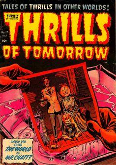 Retro Horror Comic Book Covers