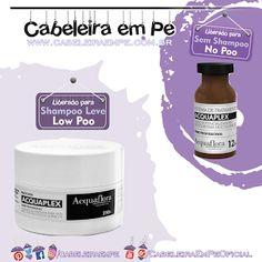 Fluido (No Poo) e Máscara AcquaPLex (Low Poo) - Acquaflora