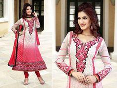 Fashion Designs Anarkali Frocks Party wear Dress 2014 3 Fashion Designs Anarkali Frocks Party wear Dress 2014