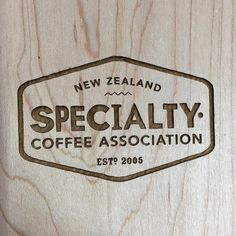 @nzspeccoffee these are coming your way. Maple loves the laser. #lasercutting #woodworking #wellingtonmade #supportlocal #trophies