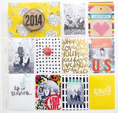 2014 cover page by emilymerritt | Scrapbooking Kits, Paper & Supplies, Ideas & More at StudioCalico.com!